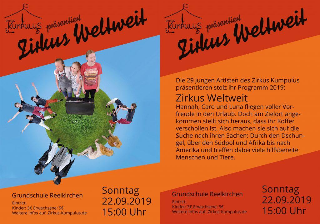 Zirkus Kumpulus in Reelkirchen Zirkus Weltweit 2019
